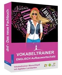 Vokabeltrainer Englisch Aufbauwortschatz auf digitalen Lernkarten