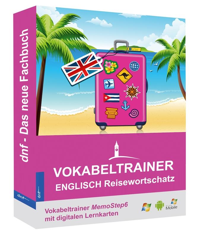 Englisch vokabeltrainer mit dem englisch reisewortschatz vom dnf verlag lernprogramm memostep6 for Vokabeltrainer englisch