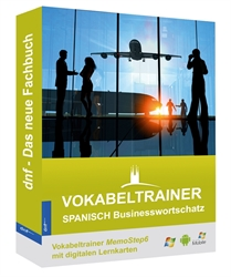 Picture of Vokabeltrainer Spanisch Businesswortschatz mit digitalen Lernkarten