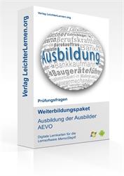 Picture of IHK Prüfungsfragen Ausbildung der Ausbilder AEVO auf digitalen Lernkarten