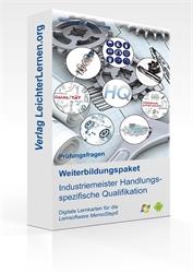 Picture of Prüfungsfragen zum IHK Industriemeister Handlungsspezifische Qualifikation auf digitalen Lernkarten