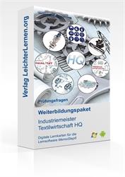 Picture of Prüfungsfragen zum IHK Industriemeister Textilwirtschaft HQ auf digitalen Lernkarten