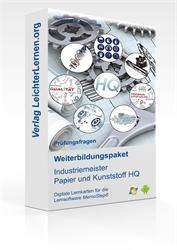 Picture of Prüfungsfragen zum IHK Industriemeister Papier und Kunststoff HQ auf digitalen Lernkarten