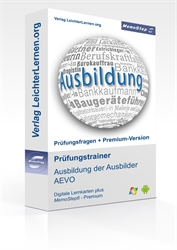 Picture of Prüfungstrainer IHK Ausbildung der Ausbilder AEVO