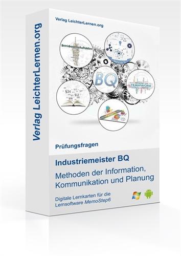 Picture of Industriemeister BQ - Methoden der Information, Kommunikation und Planung auf digitalen Lernkarten