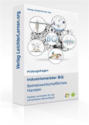Picture of Industriemeister  BQ - Betriebswirtschaftliches Handeln auf digitalen Lernkarten