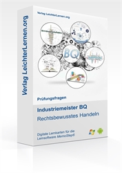 Picture of Industriemeister  BQ - Rechtsbewusstes Handeln auf digitalen Lernkarten