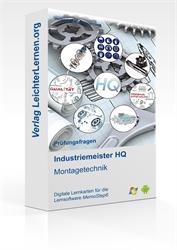 Picture of Industriemeister  HQ - Montagetechnik auf digitalen Lernkarten