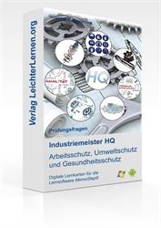 Picture of Industriemeister  HQ - Arbeitsschutz, Umweltschutz und Gesundheitsschutz auf digitalen Lernkarten