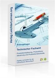 Picture of Geprüfter Technischer Fachwirt IHK - Produktionsplanung-, steuerung- und kontrolle auf digitalen Lernkarten