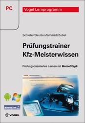 Picture of Prüfungstrainer mit Prüfungsfragen zum Kfz-Meisterwissen