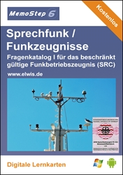 Picture of Beschränkt gültiges Funkbetriebszeugnis (SRC) (Lernstoffdatei)