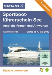 Picture of Sportbootführerschein See 2012 (Lernstoffdatei)